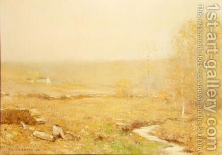 November Morning by Bruce Crane - Reproduction Oil Painting
