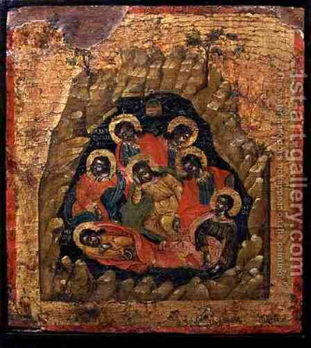 The Seven Sleepers of Ephesus by Anonymous Artist - Reproduction Oil Painting