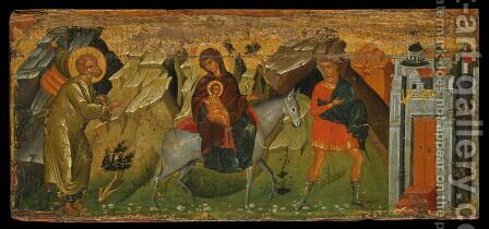 The Flight into Egypt by Anonymous Artist - Reproduction Oil Painting