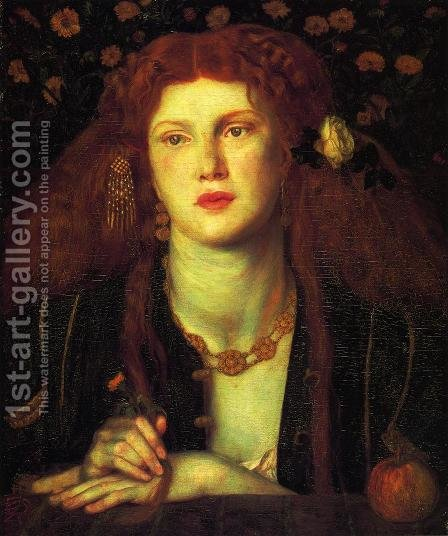 Bocca Baciata by Dante Gabriel Rossetti - Reproduction Oil Painting