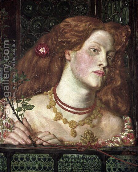 Fair Rosamund by Dante Gabriel Rossetti - Reproduction Oil Painting
