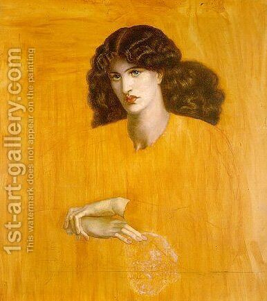 La Donna Della Finestra I by Dante Gabriel Rossetti - Reproduction Oil Painting