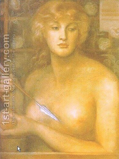 Venus Verticordia I by Dante Gabriel Rossetti - Reproduction Oil Painting