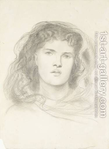 The Beloved - study by Dante Gabriel Rossetti - Reproduction Oil Painting
