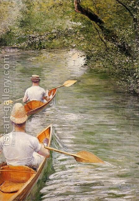 Perissoires by Gustave Caillebotte - Reproduction Oil Painting