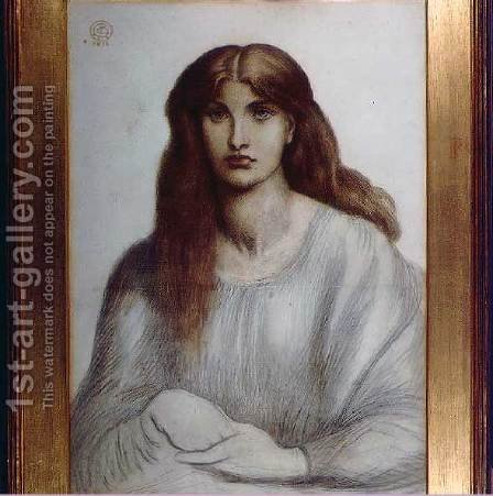 Alexa Wilding 2 by Dante Gabriel Rossetti - Reproduction Oil Painting