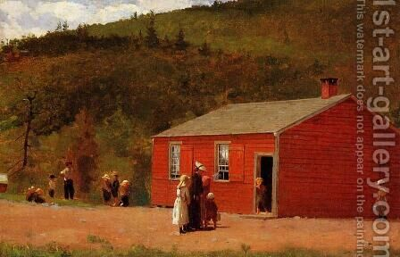 School Time by Winslow Homer - Reproduction Oil Painting