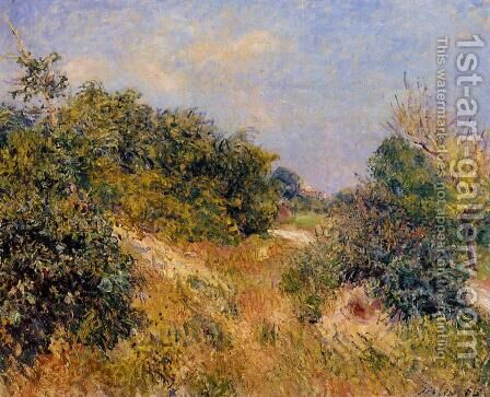 Edge of Fountainbleau Forest - June Morning by Alfred Sisley - Reproduction Oil Painting