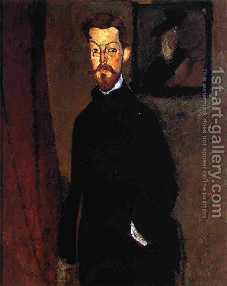 Portrait of Dr. Paul Alexandre by Amedeo Modigliani - Reproduction Oil Painting