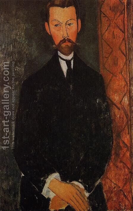 Portrait of Paul Alexander by Amedeo Modigliani - Reproduction Oil Painting