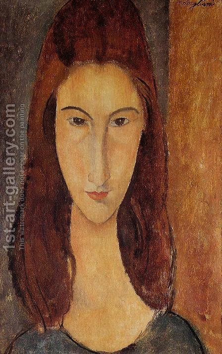 Jeanne Hebuterne by Amedeo Modigliani - Reproduction Oil Painting