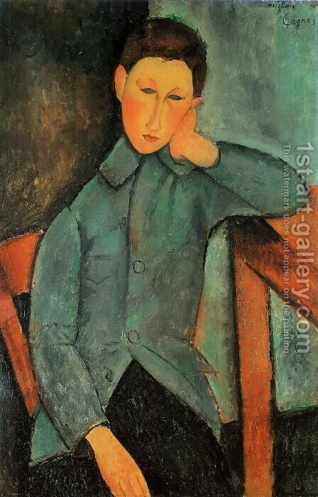 The Boy by Amedeo Modigliani - Reproduction Oil Painting