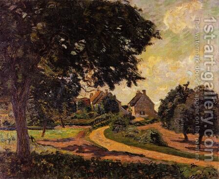 After the Rain by Armand Guillaumin - Reproduction Oil Painting