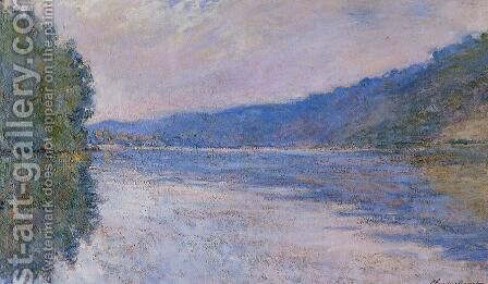 The Seine at Port-Villez 3 by Claude Oscar Monet - Reproduction Oil Painting