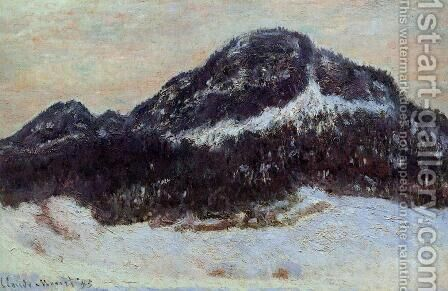Mount Kolsaas I by Claude Oscar Monet - Reproduction Oil Painting