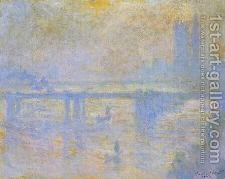 Charing Cross Bridge V by Claude Oscar Monet - Reproduction Oil Painting