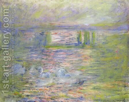 Charing Cross Bridge VIII by Claude Oscar Monet - Reproduction Oil Painting