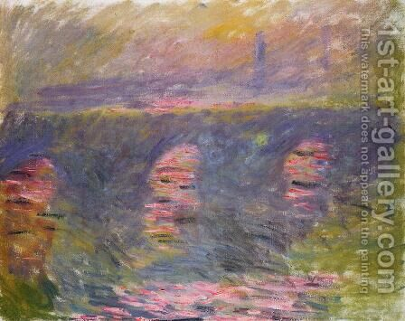 Waterloo Bridge I by Claude Oscar Monet - Reproduction Oil Painting