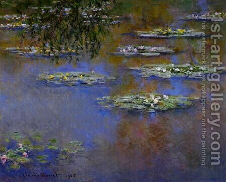 Water-Lilies III by Claude Oscar Monet - Reproduction Oil Painting
