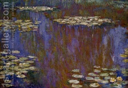 Water-Lilies XII by Claude Oscar Monet - Reproduction Oil Painting