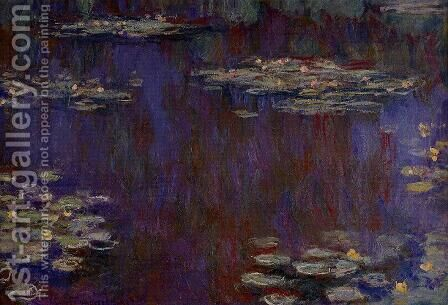 Water-Lilies XIV by Claude Oscar Monet - Reproduction Oil Painting