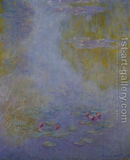 Water-Lilies 21 by Claude Oscar Monet - Reproduction Oil Painting