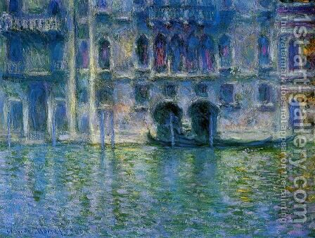 Palazzo da Mula by Claude Oscar Monet - Reproduction Oil Painting