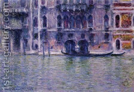 Palazzo da Mula I by Claude Oscar Monet - Reproduction Oil Painting