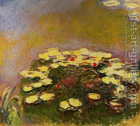 Water-Lilies 31 by Claude Oscar Monet - Reproduction Oil Painting