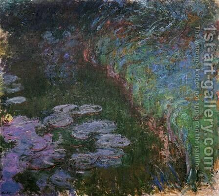 Water-Lilies 33 by Claude Oscar Monet - Reproduction Oil Painting