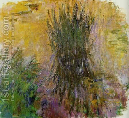 Water-Lilies 34 by Claude Oscar Monet - Reproduction Oil Painting