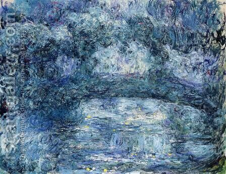 The Japanese Bridge IV by Claude Oscar Monet - Reproduction Oil Painting