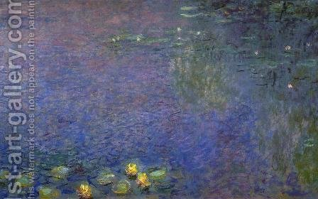 Morning (right-center detail) by Claude Oscar Monet - Reproduction Oil Painting