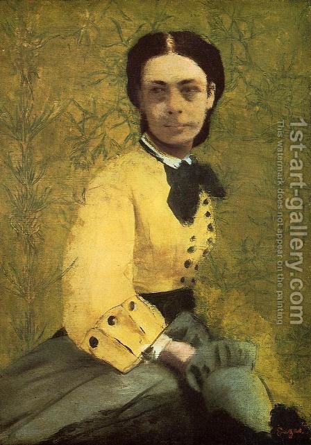 Princess Pauline de Metternich by Edgar Degas - Reproduction Oil Painting