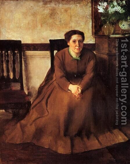 Victoria Duborg by Edgar Degas - Reproduction Oil Painting