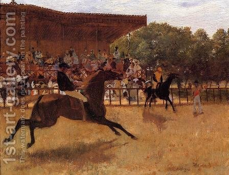 The False Start by Edgar Degas - Reproduction Oil Painting
