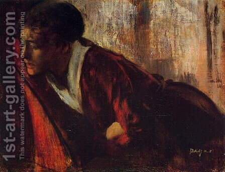 Melancholy by Edgar Degas - Reproduction Oil Painting