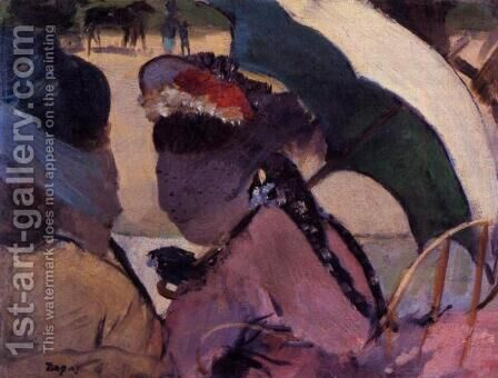 At the Races I by Edgar Degas - Reproduction Oil Painting