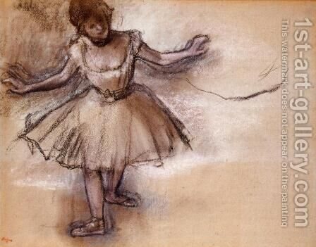 Dancer II by Edgar Degas - Reproduction Oil Painting