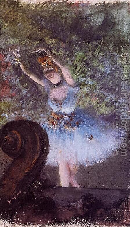 Dancer III by Edgar Degas - Reproduction Oil Painting