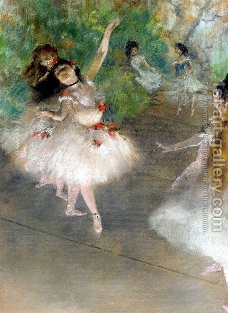 Dancers by Edgar Degas - Reproduction Oil Painting