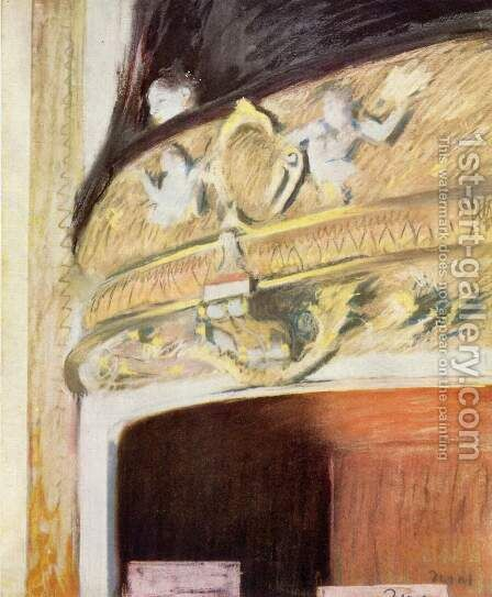 The Box at the Opera by Edgar Degas - Reproduction Oil Painting