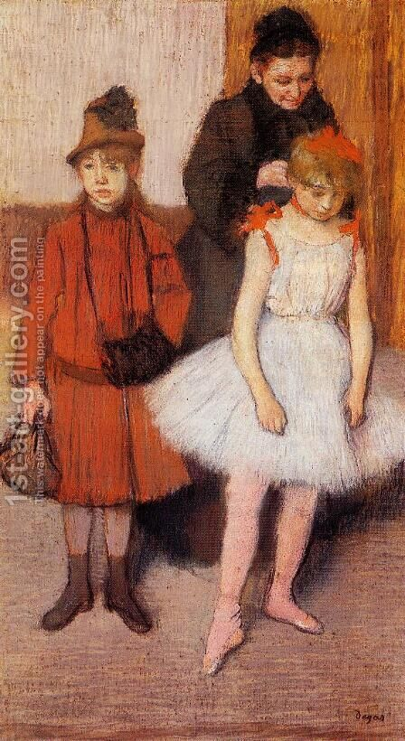 The Mante Family I by Edgar Degas - Reproduction Oil Painting