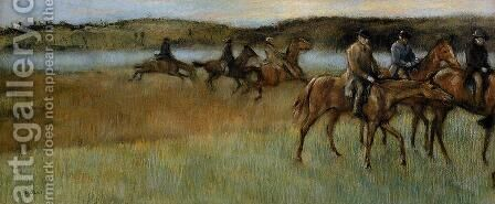 The Trainers by Edgar Degas - Reproduction Oil Painting
