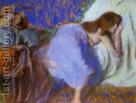 Rest by Edgar Degas - Reproduction Oil Painting