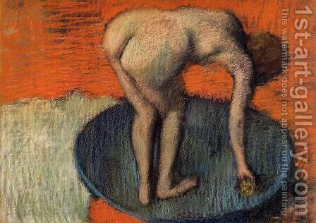 The Tub by Edgar Degas - Reproduction Oil Painting