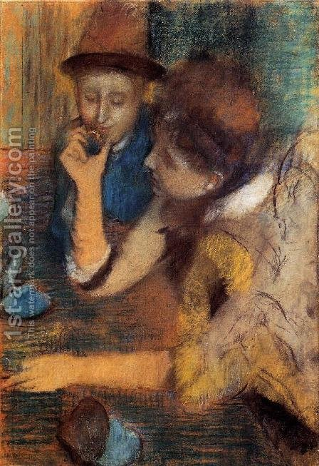 The Jewels by Edgar Degas - Reproduction Oil Painting