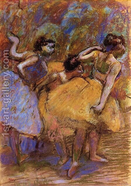 Dancers VII by Edgar Degas - Reproduction Oil Painting