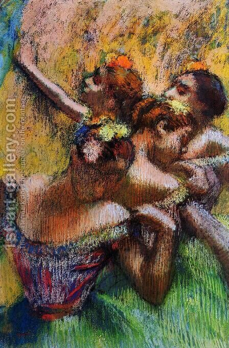 Four Dancers II by Edgar Degas - Reproduction Oil Painting