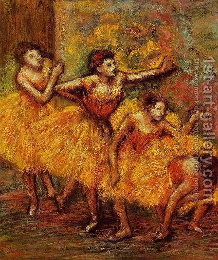 Four Dancers III by Edgar Degas - Reproduction Oil Painting